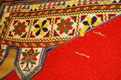 Toran antic de beadwork, India