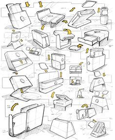 Design Sketches Pivot on Behance Maximize Your Space Whether a business is small and select or large