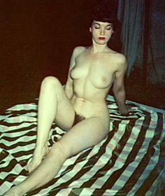 page Rare nude bettie