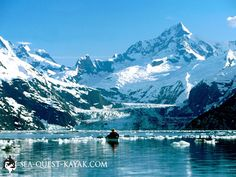 Kayak tours among glaciers & humpback whales in the Alaska wilderness. Join a sea kayaking adventure trip to the rainforests of southeast Alaska.