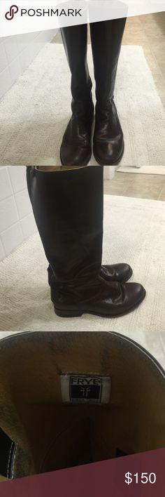 Frye Melissa Boot brown Brown Melissa Frye boot Frye Shoes Heeled Boots