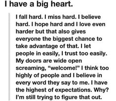 51 Best Big Heart Quotes Images Thinking About You Messages Thoughts