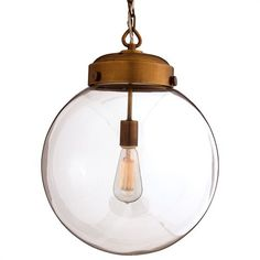 wow, this is so cool - Glass Pendant Light