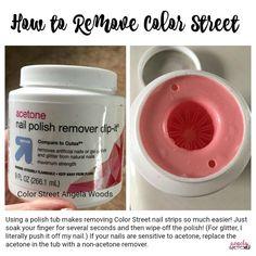 How to Remove Color Street Nail Strips Nurse Nails, Street Work, Peach Nails, Nail Length, Party Nails, Holiday Nails, Fall Nails, Summer Nails, Glitter Nail Polish