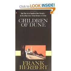 Climactic volume of the Dune trilogy in which an alien society achieves ecological salvation.