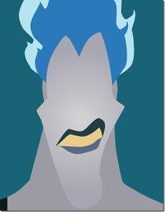 Disney Minimalist Villains - Hades