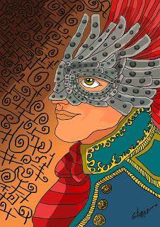 Marcelo Marcos Gutierrez: Ilustración para cuento fantástico.#ilustration, #...