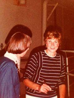 Anne with a fan