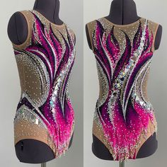 """Sale New Swimsuit for Artistic Gymnastics """"Tornado"""", height OG FROM OB The arc is about 130 cm. Gymnastics Costumes, Rhythmic Gymnastics Leotards, Dance Costumes, Skating Dresses, Dance Dresses, Artistic Gymnastics, Yoga Pants Outfit, Aerobics, Swimsuits"""