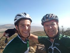Top of Dorstberg with Jacques