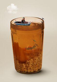 Plasticina Barware, Bucket, Ice, Ice Cream, Buckets, Aquarius, Tumbler