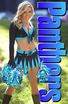 | Panthers cheerleader | Jeopardy music plays softly... Answer: Effeminate acrobats, lady zebras, gorillas trimmed in pink. Question: What do the NFL and the circus have in common? Carolina Panthers Cheerleaders, Hottest Nfl Cheerleaders, Football Cheerleaders, Cute Cheer Pictures, Cheerleading Pictures, Cheerleading Uniforms, Crop Top Outfits, Sexy Outfits, Sexy Women