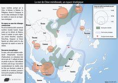 La mer de Chine méridionale, un espace stratégique