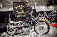 Just a beautiful custom Triumph !!!  Great job ,,,  :)