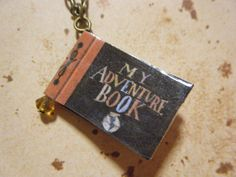 My Adventure Book Charm Necklace or Earrings by KawaiiCandyCouture