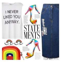 """Statements"" by tasnime-ben ❤ liked on Polyvore"