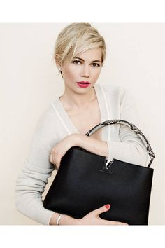 96effc1758bb Michelle Williams stuns in the Louis Vuitton Spring 2014 ad campaign. Peter  Lindbergh
