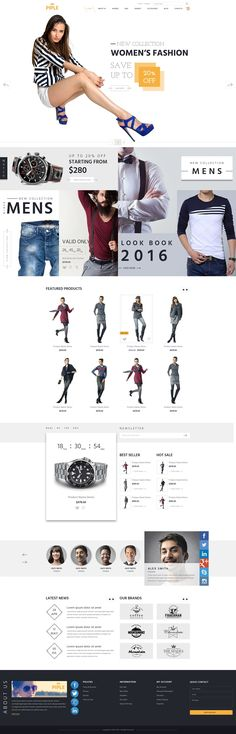 TOP Ecommercc Website Themes #SHOPPING