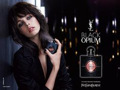 Never Used/Black Opium/Yves Saint Laurent/new highly addictive feminine fragrance. Fascinating/seductively intoxicating, w opening notes of adrenaline-rich coffee w sweet sensuality of vanilla recline. Ysl Beauty, Beauty Shots, Beauty Women, Hair Beauty, Hermes Perfume, Perfume Ad, Yves Saint Laurent, Ysl Black Opium, Paris Model