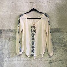 BNWT blue pepper bohemian top Brand new. Similar to free people Free People Tops