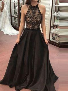 New Black Patchwork Lace Draped Tie Back Backless Round Neck Sleeveless  Elegant Maxi Dress. Abiti A TopAbiti LunghiVestiti Eleganti Scollati DietroAbiti  Da ... 23299db78a0