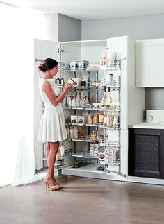 #Armoire coulissante extractible #VIBO  Pour l'aménagement d'armoire simple de 600 ou double ouverture de 1200