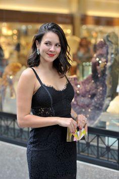 affordable black tie dresses, black lace dresses - My Style Vita @mystylevita