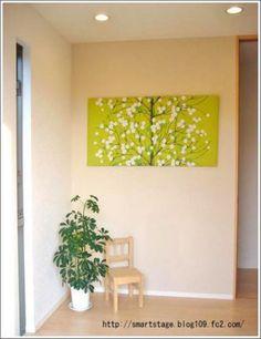 北欧ファブリックパネルが断然オススメ♪白い壁の空間を一気に華やかに変えてくれます。 Marimekko, Magnolia, New Homes, House Design, Interior, Design Ideas, Inspiration, Home Decor, Painted Canvas