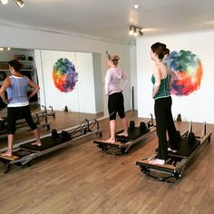 Reformer classes filling up fast! Saturday sessions with our physio Jacinta on tomorrow! 9:15am circuit for fun and 10:15am beginners! Come on down to the Juc studio for our 2 for 1 offer - no other commitments just two awesome classes! See you then! #reformer #reformerpilates #pilates #janjuc #torquay #bellsbeach #greatoceanroad #fitness #fun #wellbeing #weekendfun #weekendwellbeingwarrior  by surfcoastmindfulmovement http://ift.tt/1KnoFsa