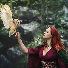 Image about redhead owl in Atom Eve by & Red on We Heart It Fantasy Photography, Animal Photography, Story Inspiration, Character Inspiration, Images Esthétiques, Medieval Fantasy, Kaito, Fantasy Characters, Spirit Animal