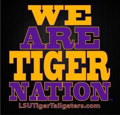 Who's pumped up for some LSU Football? GEAUX LSU TIGERS!!!!!