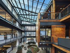 One of The American Institute of Architects (AIA) and its Committee on the Environment (COTE) have selected the top ten examples of sustainable architecture and green design solutions.  Federal Center South Building 1202 by ZGF Architects LLP