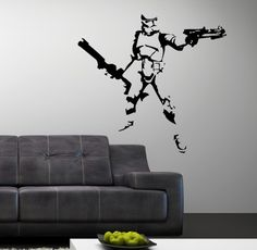 Vinyl Wall Art Decal Star Wars Stormtrooper