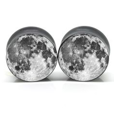 Moon Ear Plugs 0g-51mm (for when my ears are stretched) $19.99
