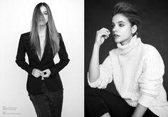 Barbara Palvin è una Bellezza in bianco e nero per Krisztián Éder Spara