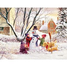 Frosty Day by D.R. Laird