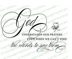 Inspirational Quotes About Life: God Understands PreDesigned Script Elegant Title