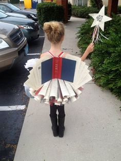 The Diction-fairy! I wish I could be this for Halloween.
