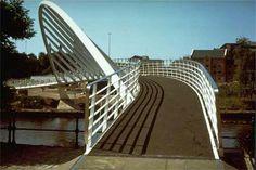 The Merchants Bridge,  Castlefield,  Manchester.