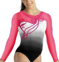 GK Elite Faded Ombre Competition Leotard Brands / Coolspotters