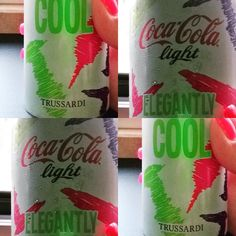 Very cool  #cocacola #cocacolalight #trussardi #italy #style #trendy #cool #summer #summertime #fashionista #ilikeit #limitededition #miamibeach #instagood