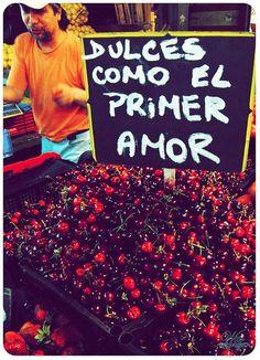 Dulces, como el primer amor...!