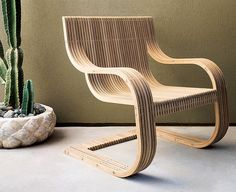 CNC cuts seamless teak furniture, joined using stainless rods | Woodworking Network