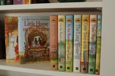I can't even count how many times I've read and reread these books! Such classics!