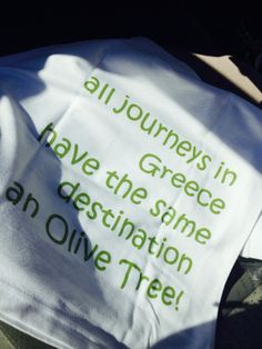 All journeys in Greece have the same destination an Olive Tree! Tedx Thessaloniki 2014