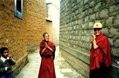 Monk friends in Lhasa
