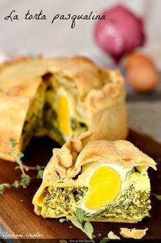 Ricotta, Egg Recipes, Cooking Recipes, Italian Easter Pie, Pesto, Croissant Recipe, Diy Ostern, Home Baking, Antipasto