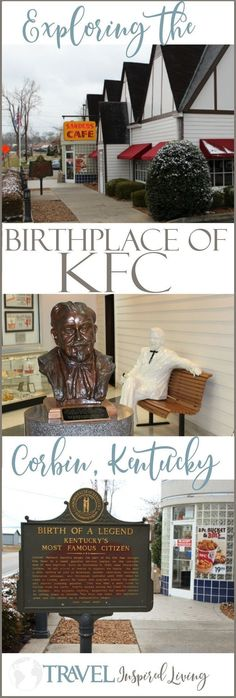 Exploring the birthplace of KFC in Corbin, Kentucky