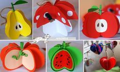knutselen thema fruit kleuters - Google Search