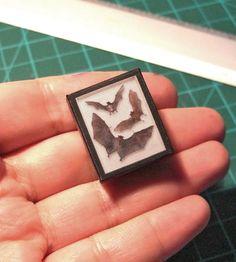Hey, I found this really awesome Etsy listing at https://www.etsy.com/au/listing/462142885/miniature-three-bats-shadow-box